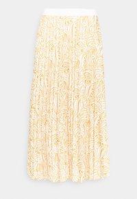 Re.draft - PLISSÉE SKIRT - A-lijn rok - dark yellow - 1