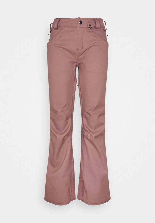 SPECIES STRETCH PANT - Pantaloni da neve - rose wood