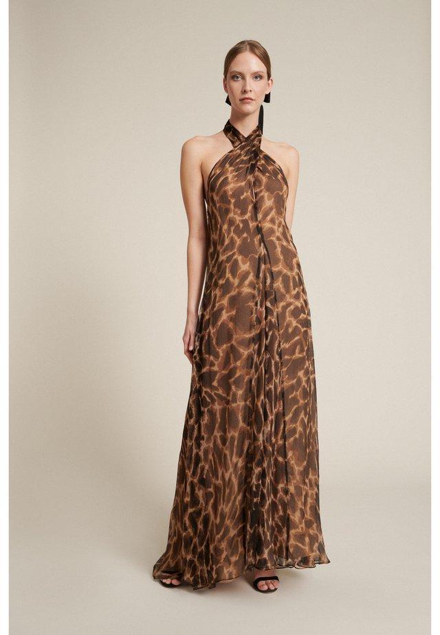 Robe longue - marrone