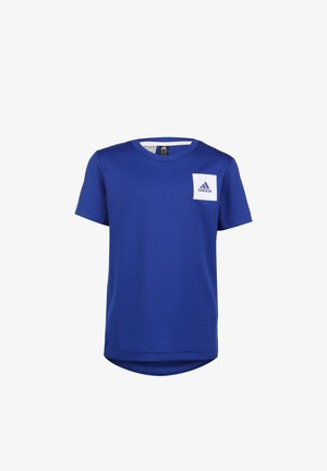 AEROREADY  - T-shirts print - royal blue / white