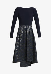 Lauren Ralph Lauren - LONG DRESS - Robe de soirée - gold/navy - 4