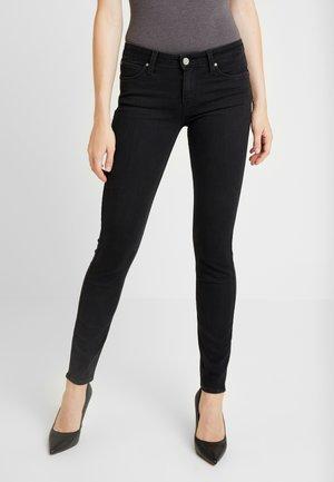 SCARLETT BODY OPTIX - Jeansy Skinny Fit - black lush