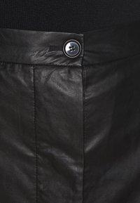 Lovechild - GIOVANNI SKIRT - A-line skirt - black - 5