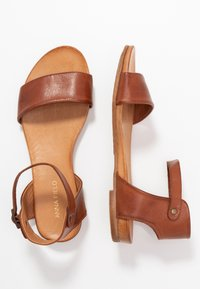 Anna Field - LEATHER  - Sandals - cognac - 3