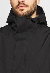 Peak Performance - LIGHT PAC - Hardshell jacket - black - 5