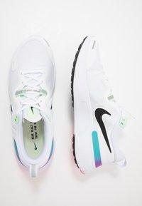 Nike Performance - REACT MILER - Neutrala löparskor - white/black/vapor green/hyper jade - 1