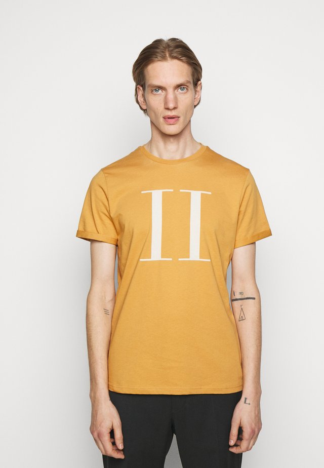 ENCORE  - T-shirt imprimé - spruce yellow/off-white