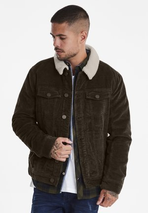 OUTERWEAR  - Denim jacket - dark earth brown