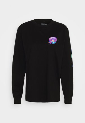 BACK TO THE FUTURE HOVERBOARD LONGSLEEVE - Långärmad tröja - black