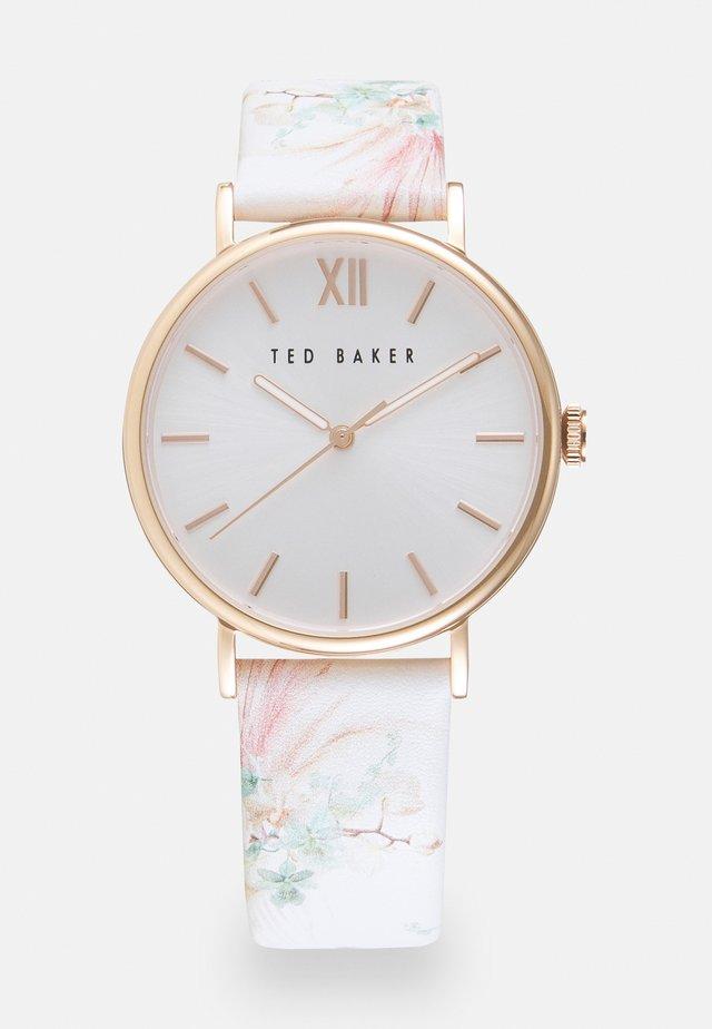PHYLIPASERENDIPITY - Horloge - white