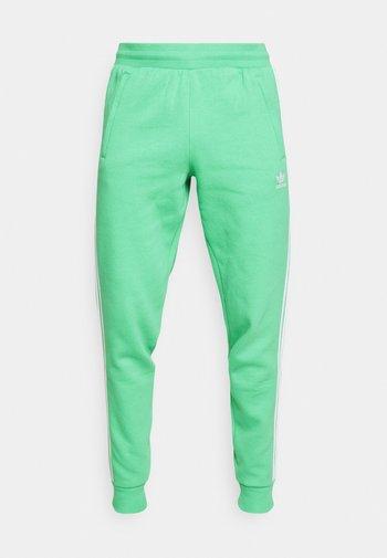 STRIPES PANT - Tracksuit bottoms - semi screaming green