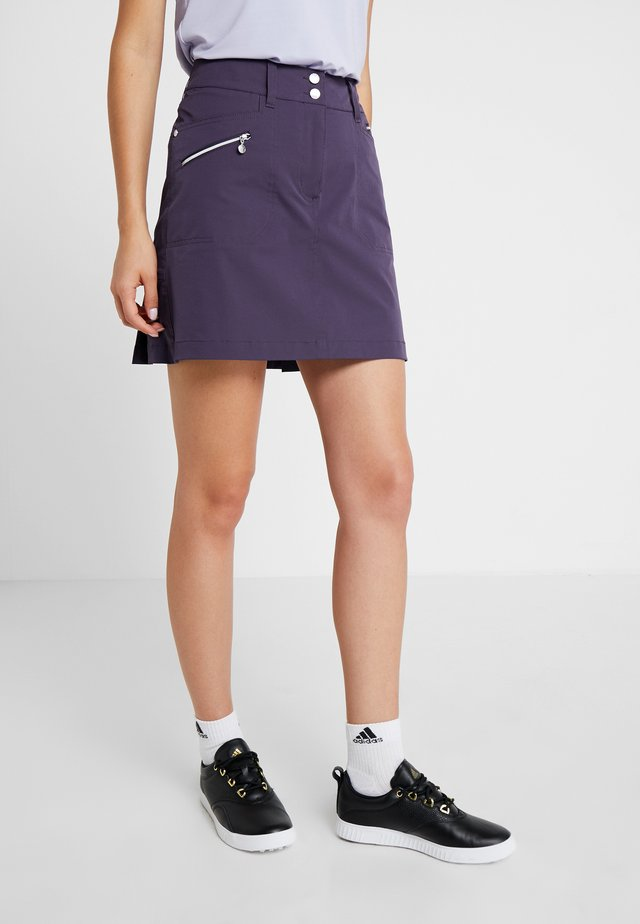 MIRACLE SKORT - Sports skirt - dark purple