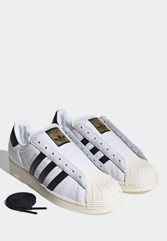 adidas Originals ADIDAS SUPERSTAR LACELESS SNEAKER - Sneaker low - white/weiß - Herrenschuhe hnAIx