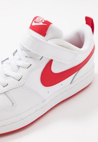 Nike Sportswear - COURT BOROUGH  - Trainers - white/university red - 2