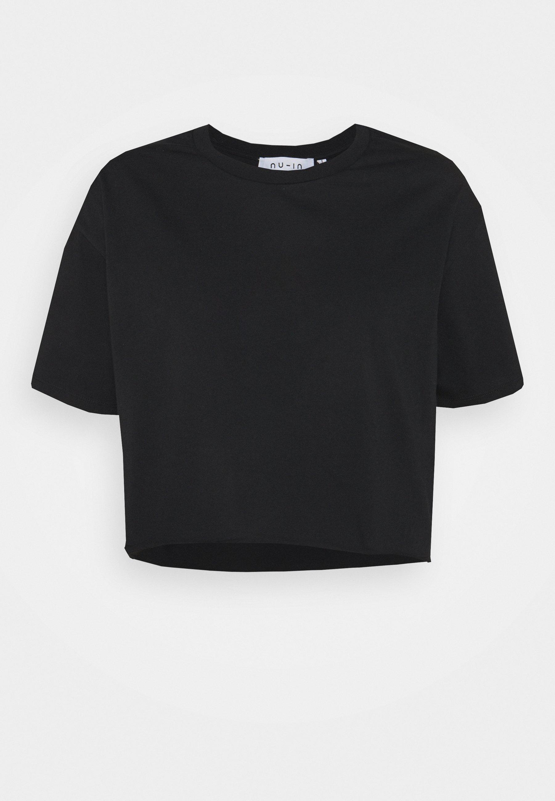 Women RAW HEM CROPPED - Print T-shirt