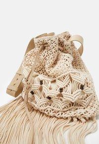 Alberta Ferretti - CROCHET SHOULDER BAG - Tote bag - beige - 4