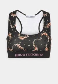 Paco Rabanne - Top - black/ pink - 5