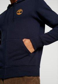 Timberland - CORE TREE  - veste en sweat zippée - dark sapphire - 4