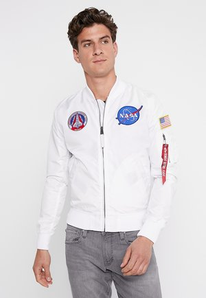 NASA REVERSIBLE II - Bomber Jacket - weiß