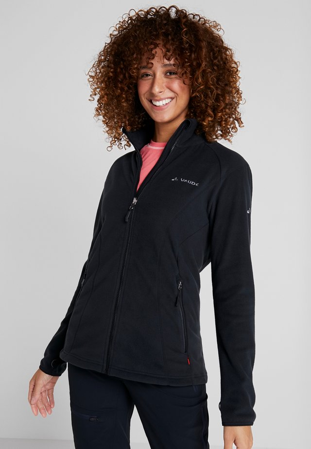 WOMENS ROSEMOOR JACKET - Fleece jacket - black