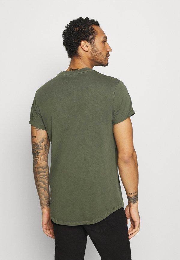 G-Star LASH - T-shirt basic - compact combat/oliwkowy Odzież Męska TWUF