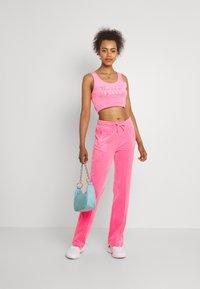 Juicy Couture - TINA TRACK  - Trainingsbroek - fluro pink - 1