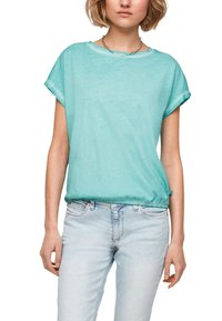 Q/S designed by - Basic T-shirt - turquoise - 5