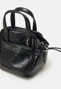 Armani Exchange - SHOULDER BAG - Kabelka - black - 3
