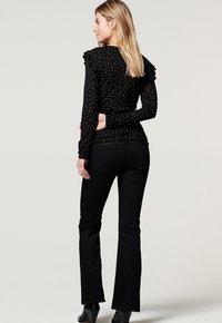 Noppies - SENNA  - Flared Jeans - black - 1