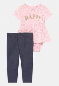 Carter's - PEPLUM SET - Print T-shirt - pink - 0