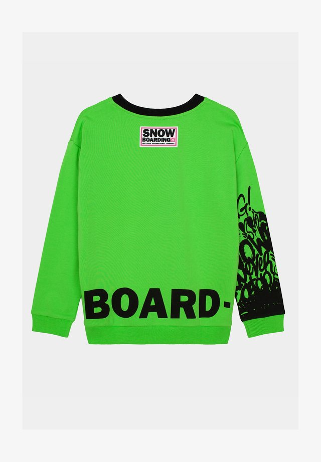 Sweater - neon green
