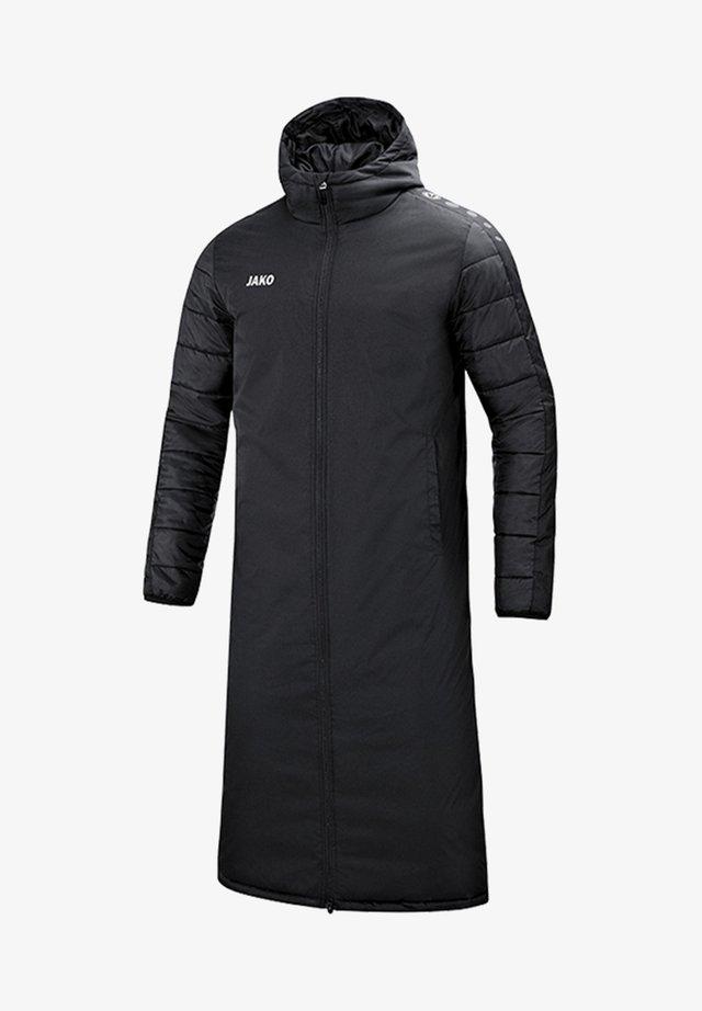 FUSSBALL  - Wintermantel - schwarz