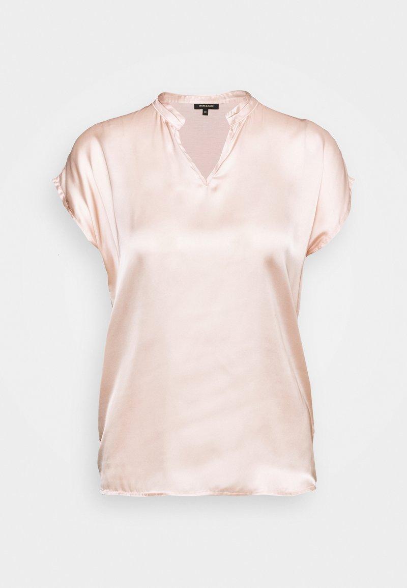 More & More - Basic T-shirt - autumn rose