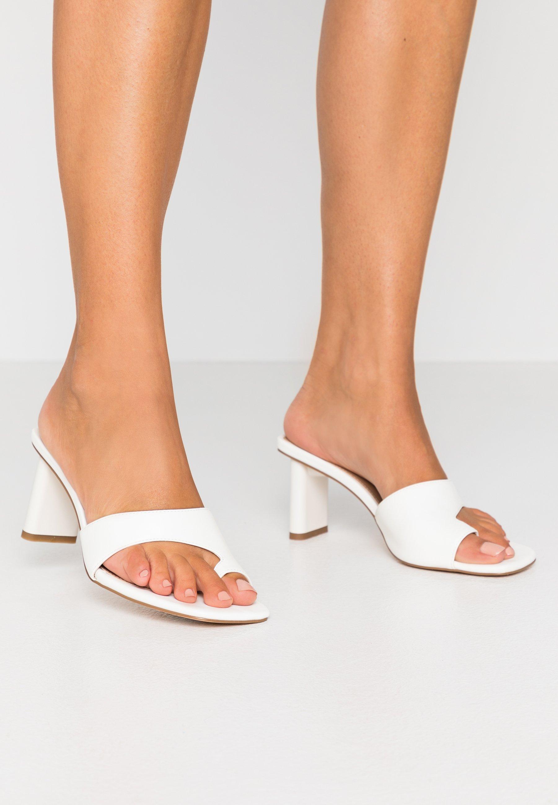 Women TOE STRAP MULES - T-bar sandals