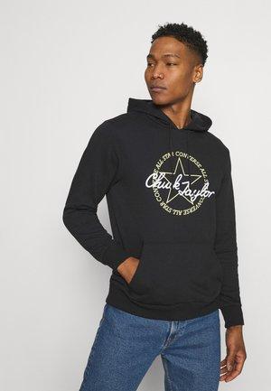 DECONSTRUCTED CHUCK PATCH HOODIE - Sweatshirt - black