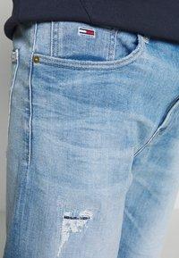Tommy Jeans - REY RELAXED - Džínové kraťasy - quince light blue - 3
