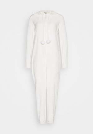 CREAM CAT ONESIE  - Jumpsuit - cream