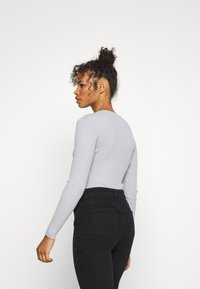 Missguided Tall - PLUNGE NECK - Pullover - grey - 2