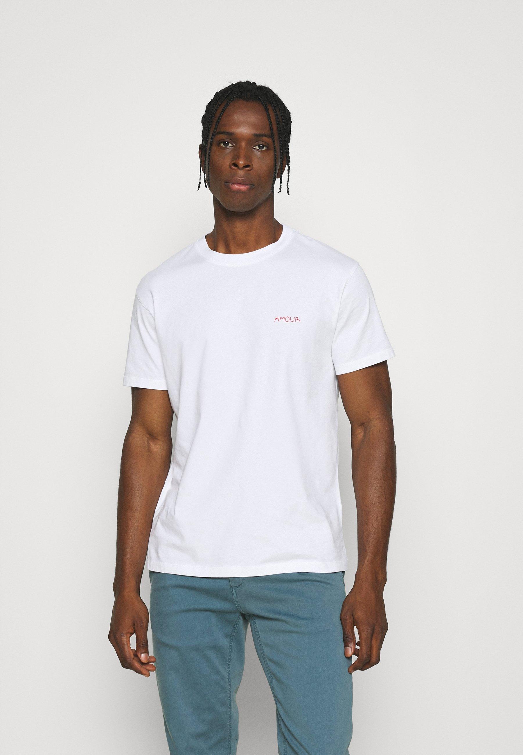 Men TEE POPINCOURT AMOUR UNISEX - Basic T-shirt