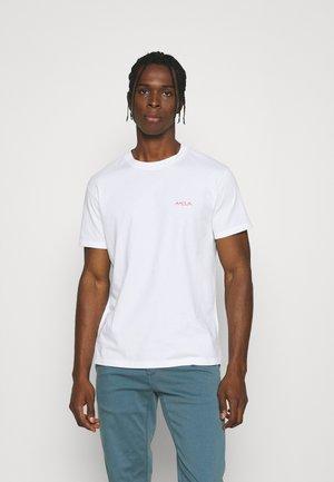 TEE POPINCOURT AMOUR UNISEX - T-shirts - white