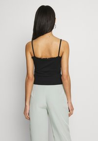 Missguided - LETTUCE EDGE CROP 2 PACK - Top - white/black - 3