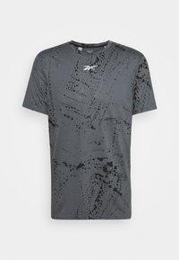 Reebok - TEE - Camiseta estampada - cold grey - 0