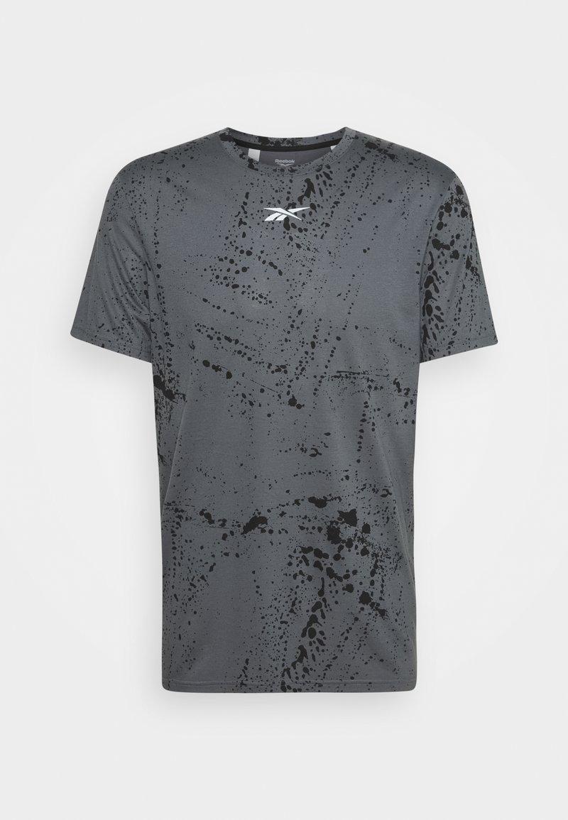 Reebok - TEE - Camiseta estampada - cold grey
