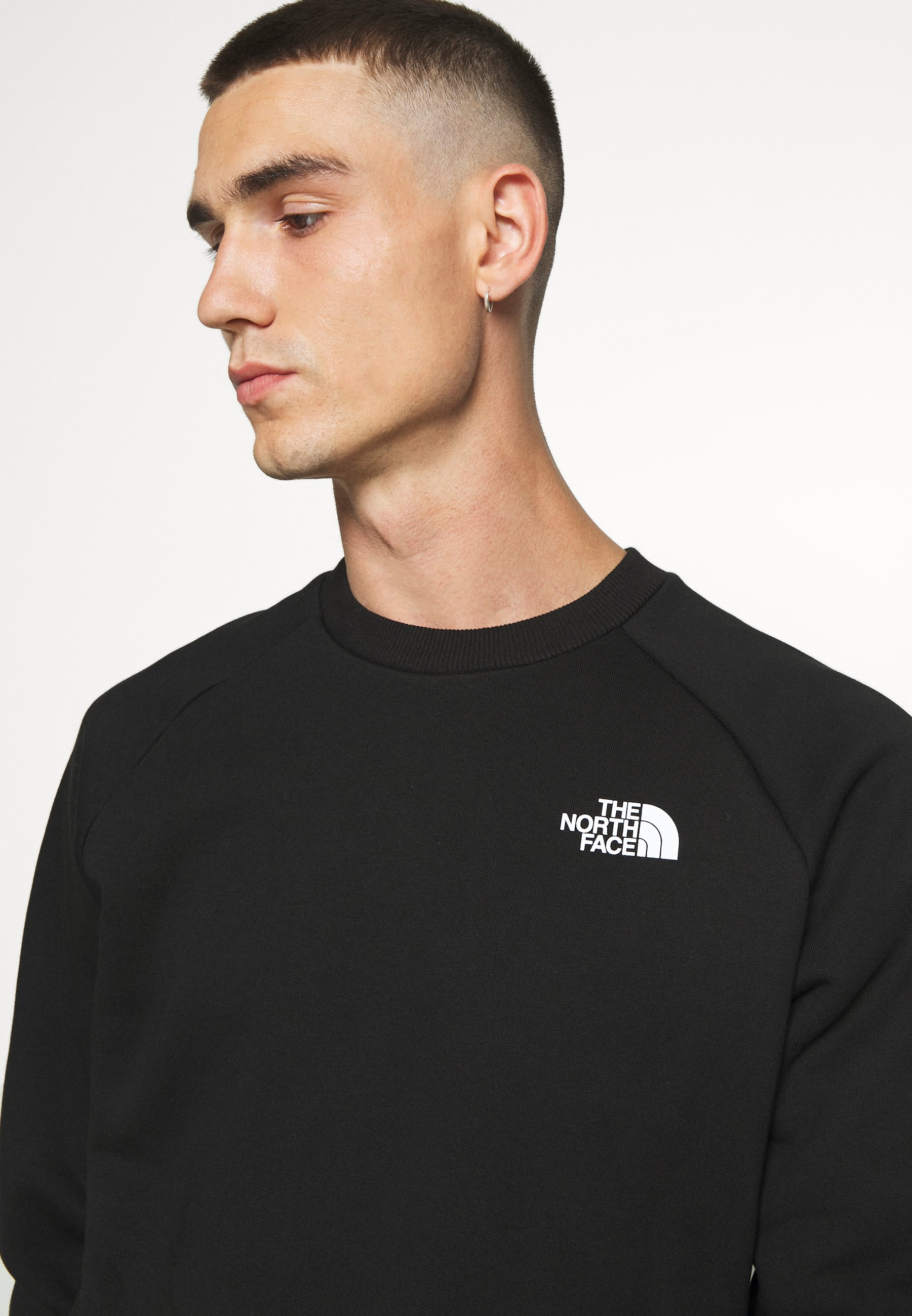 The North Face RAGLAN REDBOX CREW NEW Sweatshirt black