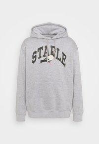 STAPLE PIGEON - COLLEGIATE HOODIE UNISEX  - Hoodie - heather grey - 4
