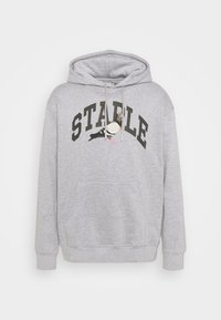 COLLEGIATE HOODIE UNISEX  - Mikina s kapucí - heather grey