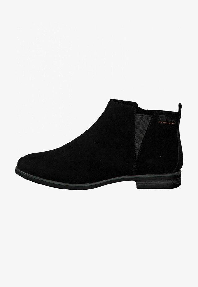Korte laarzen - black comb