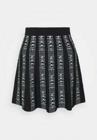 KATY SKIRT - Mini skirt - black