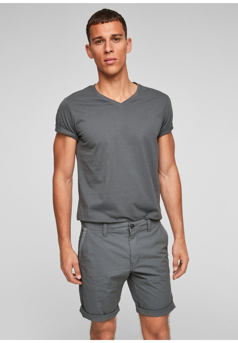 s.Oliver - Shorts - grey