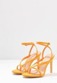 Call it Spring - ZELDAA - Sandalias de tacón - bright orange - 4